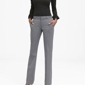 Logan Trouser-Fit Heathered Pants